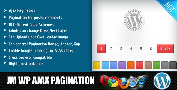 Ajax нумерація сторінок Нумерація сторінок для повідомлень, коментарі різних колірних схем Адміністратор може змінити видобуток, наступної етикетки можуть завантажувати uour власний Loader зображення може контролювати PAGINATION Діапазон, якір. Gap Включити відстеження Google для AJAX натискає крос-браузер, сумісний Highlj настроюється 11111 AJAX PAGINATION